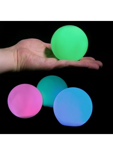 Doppler 7 Renk Değiştirebilen Led Işıklı Top Şarjlı Kablosuz Aydınlatma Renkli